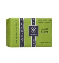 APIVITA NATURAL SOAP Jabón Natural piel seca 125 gr