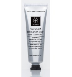 APIVITA FACE MASK Mascarilla facial de limpieza para piel grasa 50 ml