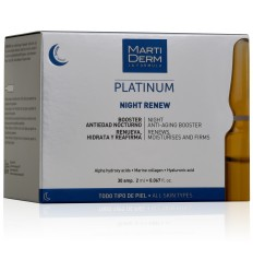 MARTIDERM PLATINUM Night Renew 30 ampollas