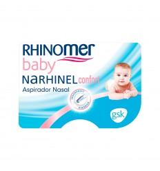 RHINOMER Baby NARHINEL confort Aspirador Nasal. 2 recambios