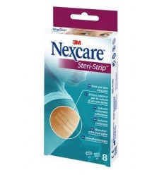 Nexcare Steri Strip tamaños surtidos 8 unidades
