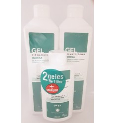 INIBSA PACK 2 GEL 1000ML  REGALO GEL FORMATO VIAJE 200ML