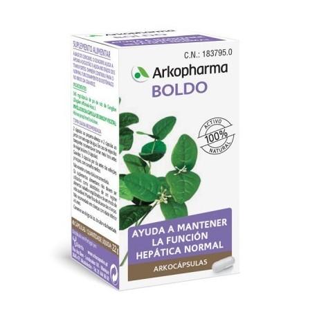 ARKOCÁPSULAS® BOLDO 48 cápsulas