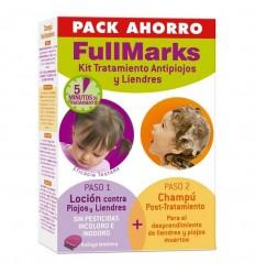 FullMarks Kit Tratamiento Antipiojos y Liendres