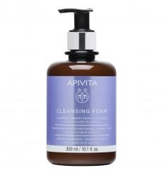 APIVITA CLEANSING Crema espuma rostro y Ojos para piel grasa 200 ml