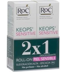 RoC® KEOPS® Desodorante Piel Sensible Roll-on Duplo 2x30 ml